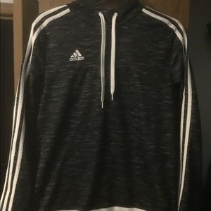 Adidas dri fit pullover size Large